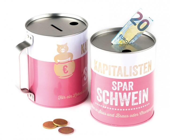 """Spendendose """"Kapitalisten Spar Schwein"""""""