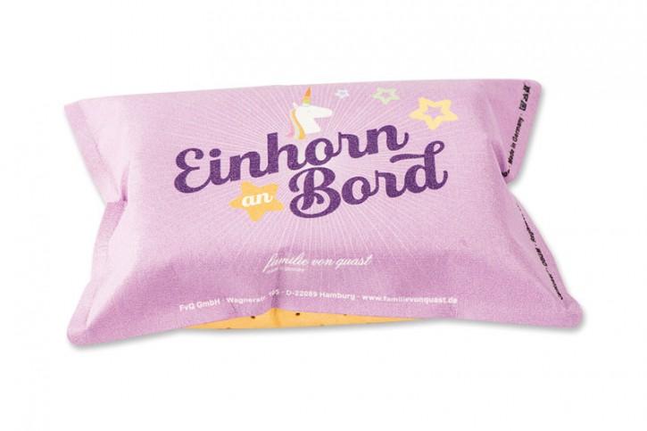 """Autoschwamm """"Einhorn an Bord"""""""