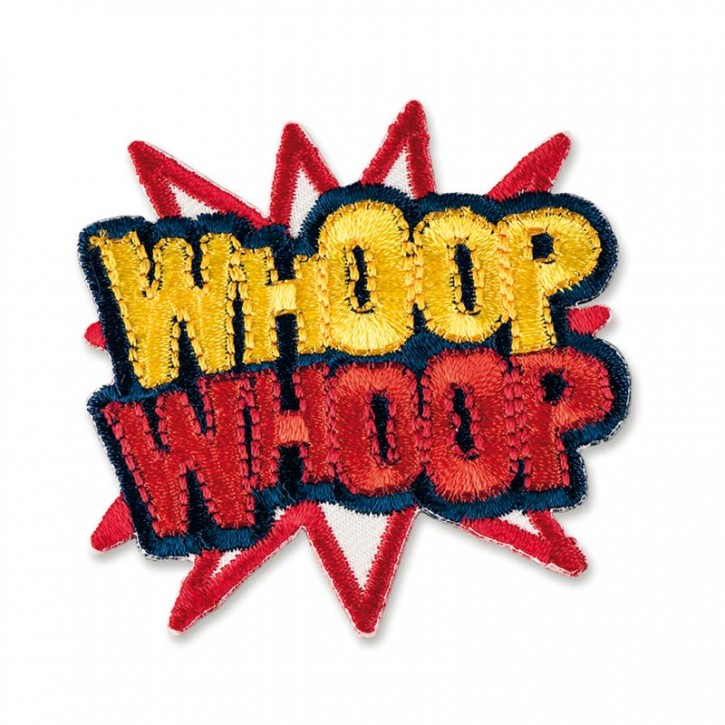 "Patch  ""Whoop Whoop"""