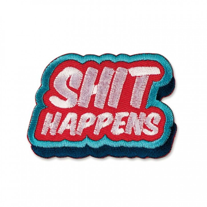 "Patch  ""Shit Happens"""
