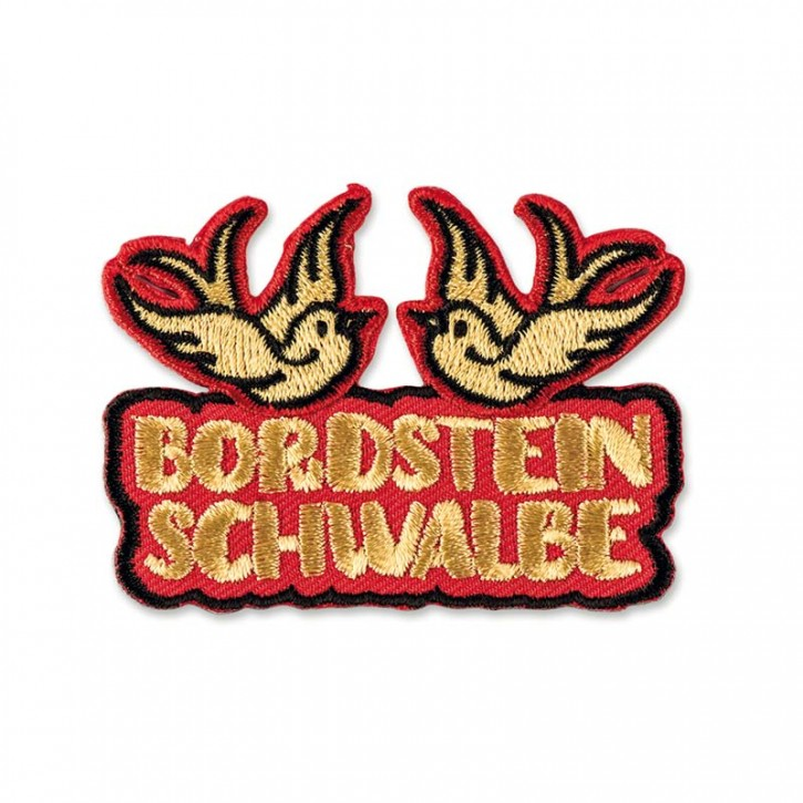 "Patch  ""Bordsteinschwalbe"""