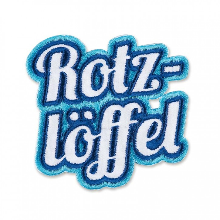 "Patch  ""Rotzlöffel"""