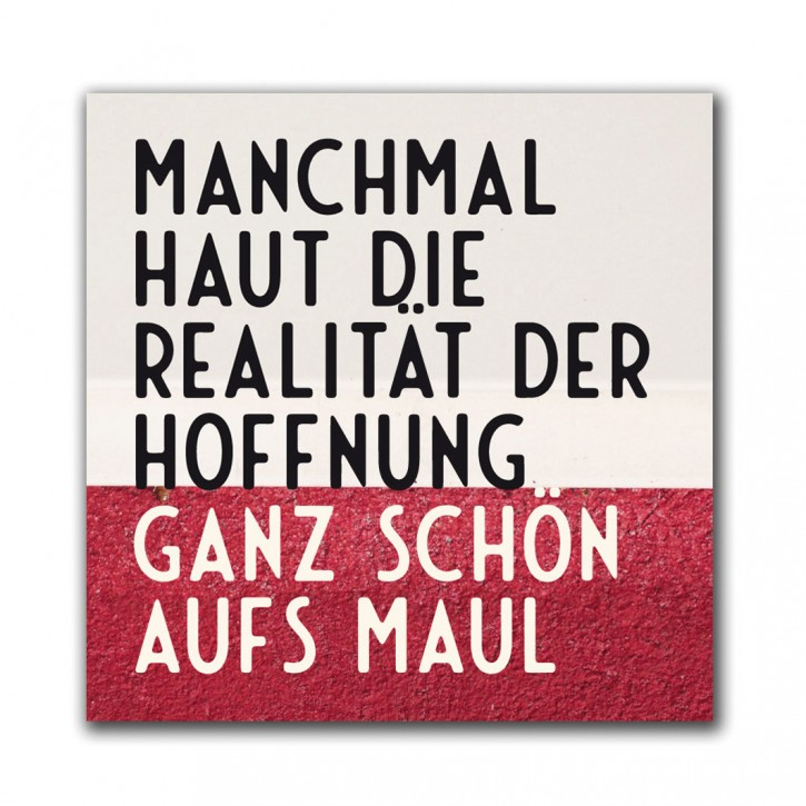 "Magnet ""Realität"""