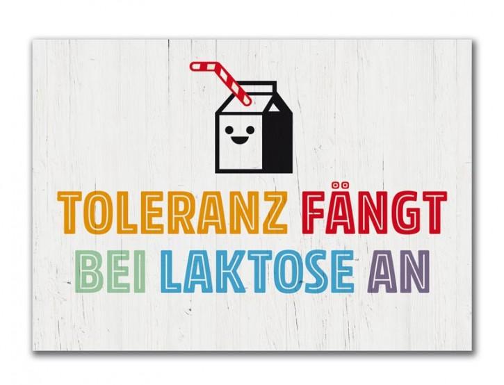 "Postkarte ""Toleranz"""