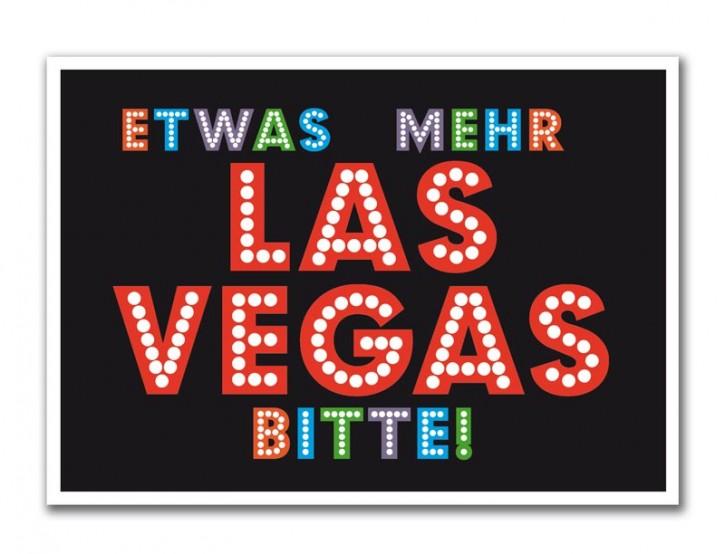 """Postkarte """"Las Vegas"""""""