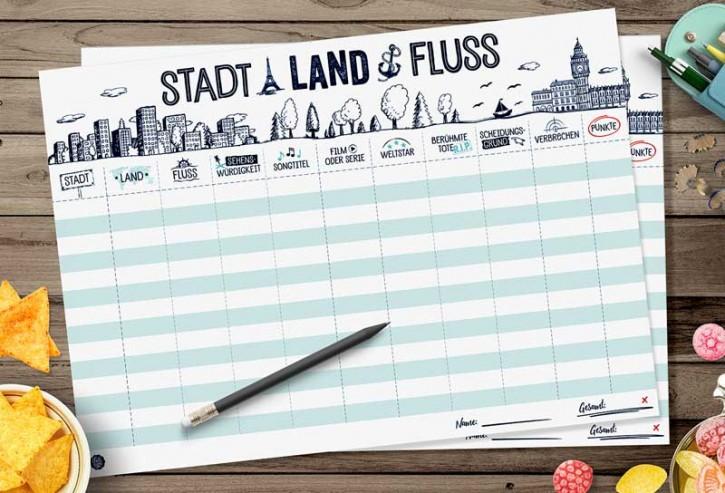 "Spielblock ""Stadt-Land-Fluss"""