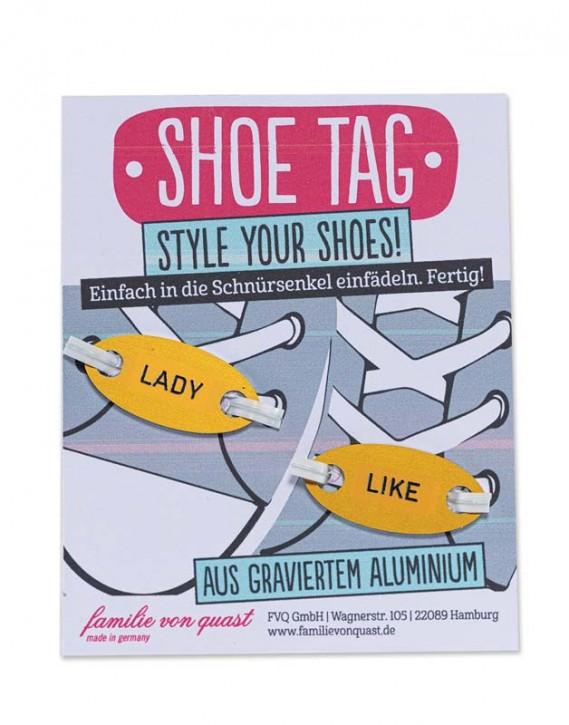 """Shoe Tag """"LADY - LIKE"""""""