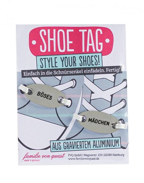 """Shoe Tag """"BÖSES - MÄDCHEN"""""""