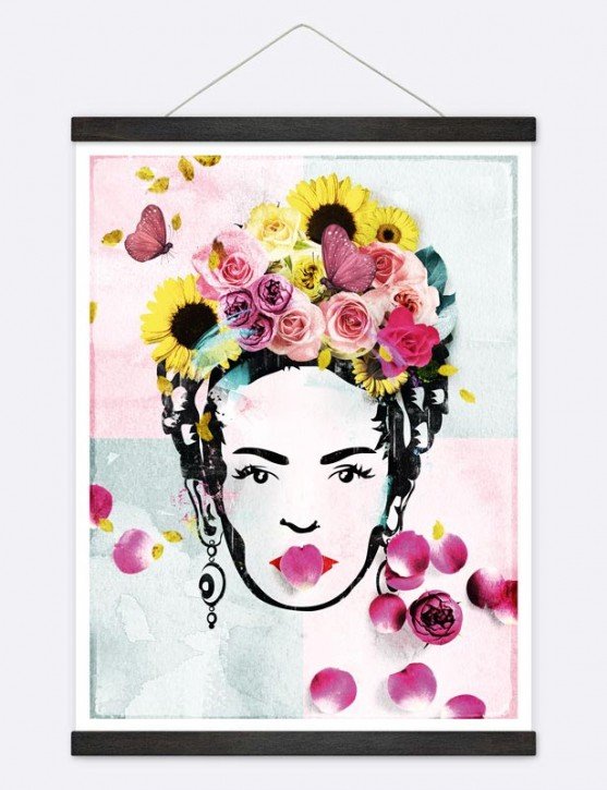 "Poster ""Flower Woman"""