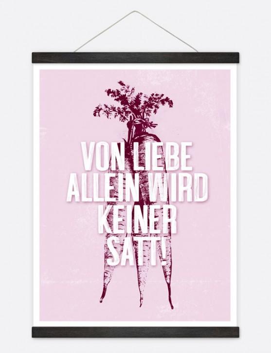 """Poster """"Von Liebe allein"""""""