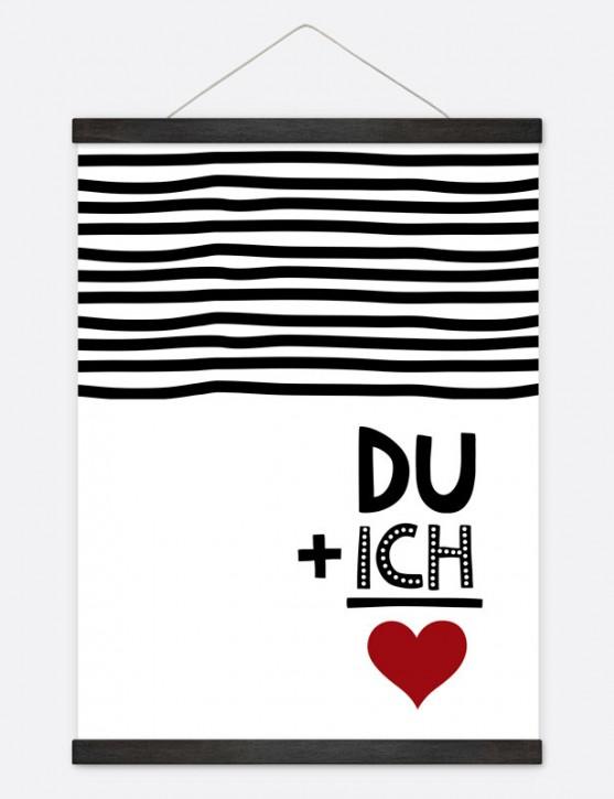 """Poster """"Du und Ich"""""""