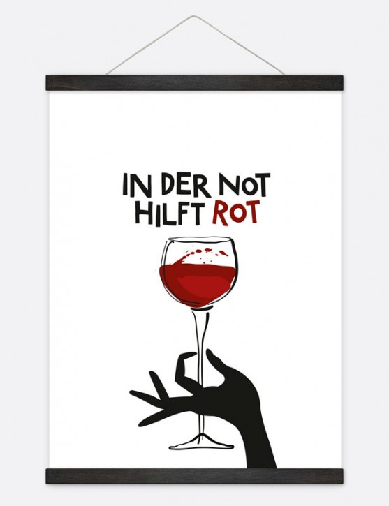 "Poster ""In der Not"""