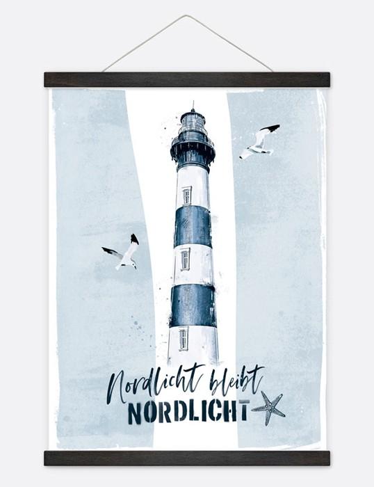 """Poster """"Nordlicht"""""""