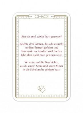 """Chaos-Karten """"X-Mas"""""""