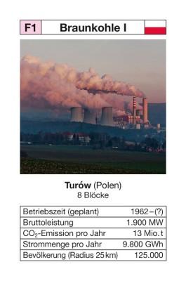 "Quartett ""Kohlekraftwerke"" - NEU"