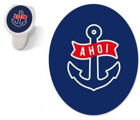 """Toilet Sticker """"Ahoi"""""""
