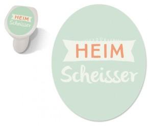 """Toilet Sticker """"Heimscheisser"""""""